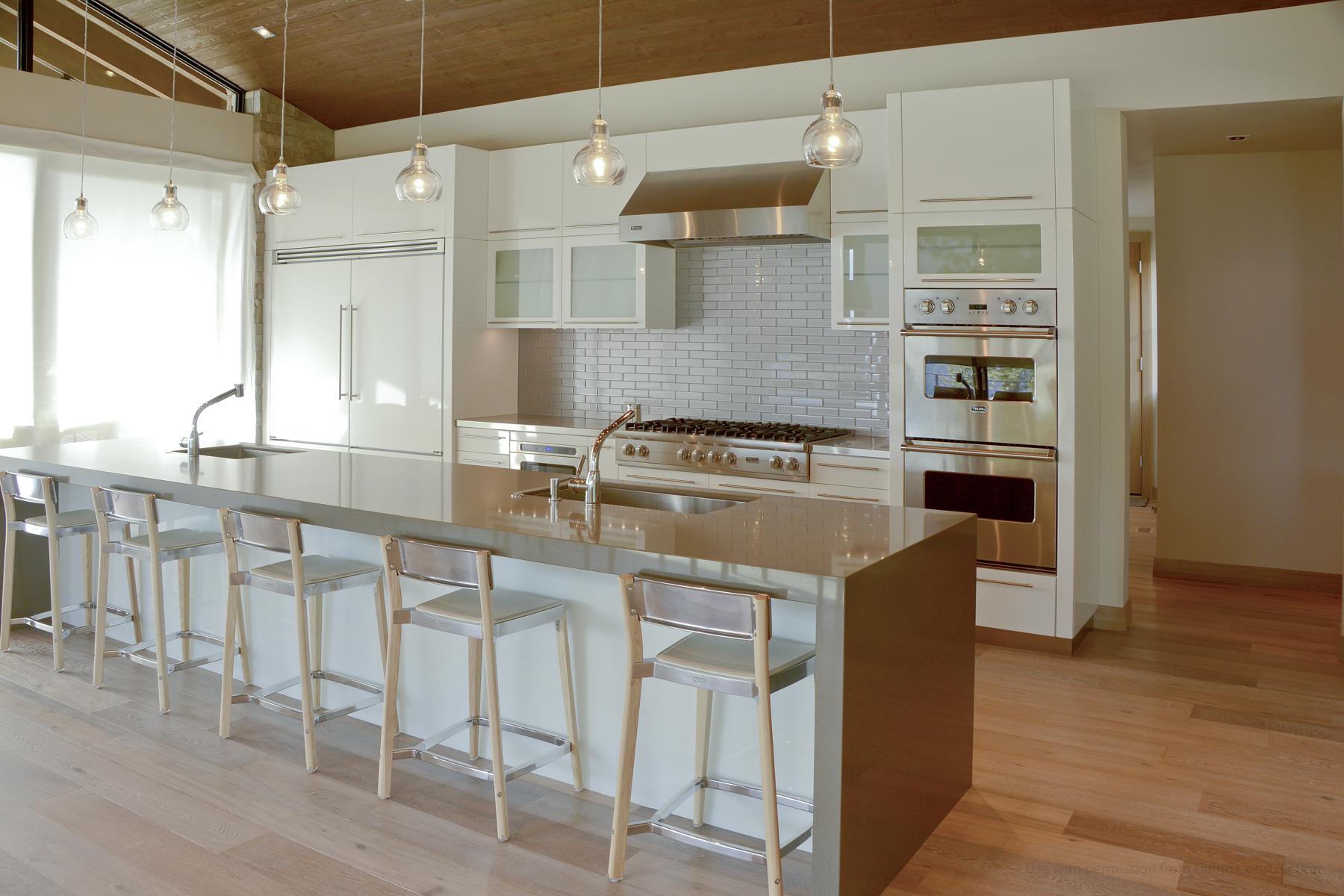 Custom Home at Black Rock by Matt Fisher, GC of Shelter Associates