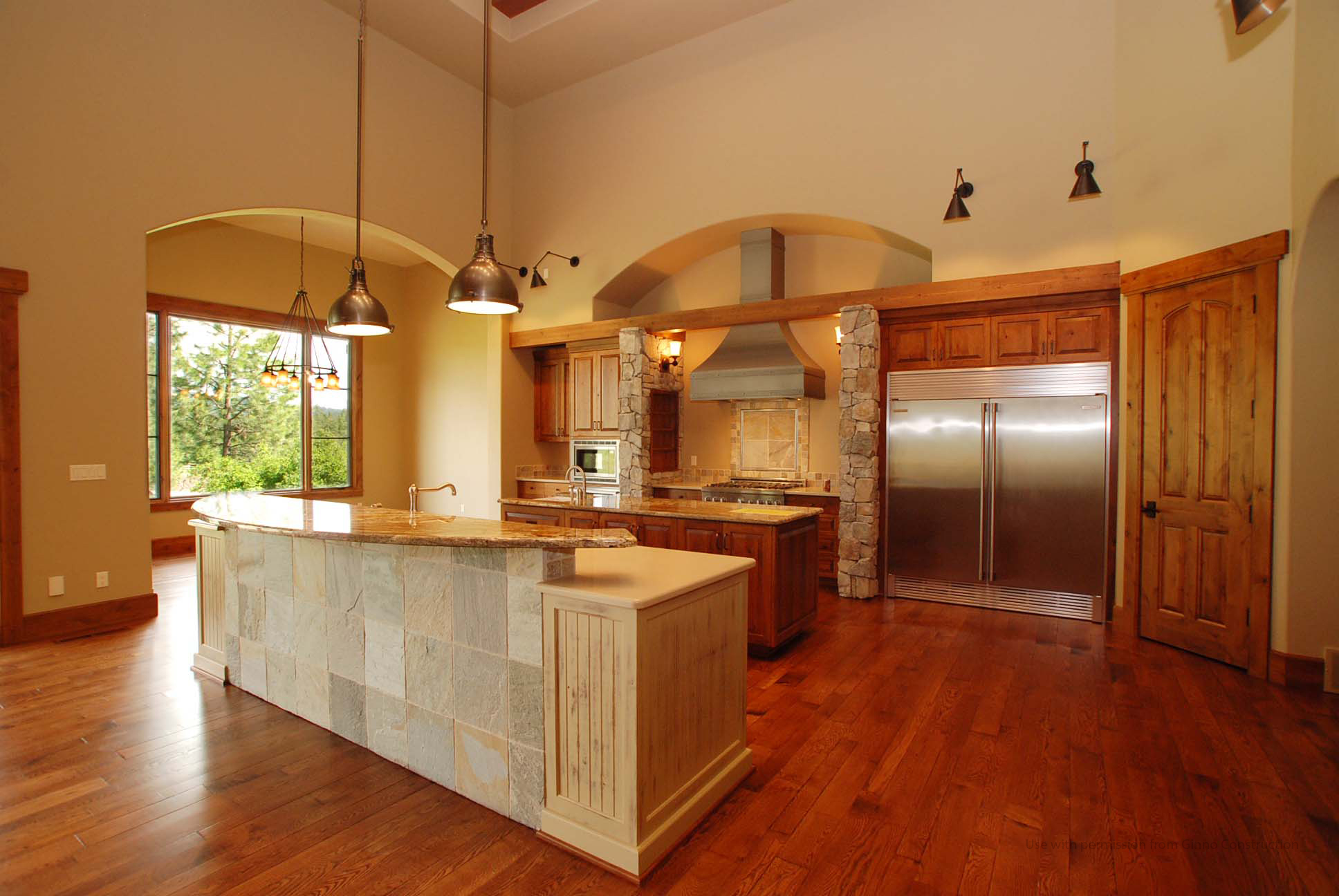 Gozzer Ranch Lot 50 Kitchen by Matt Fisher of Shelter Associates