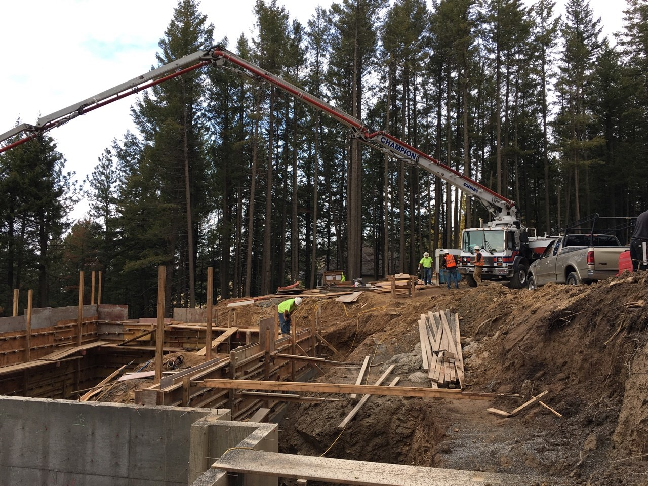 Tower Mountain Concrete Pumping